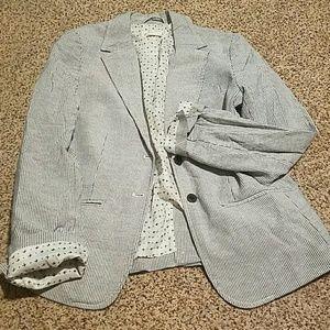 NWOT Pinstripe blazer